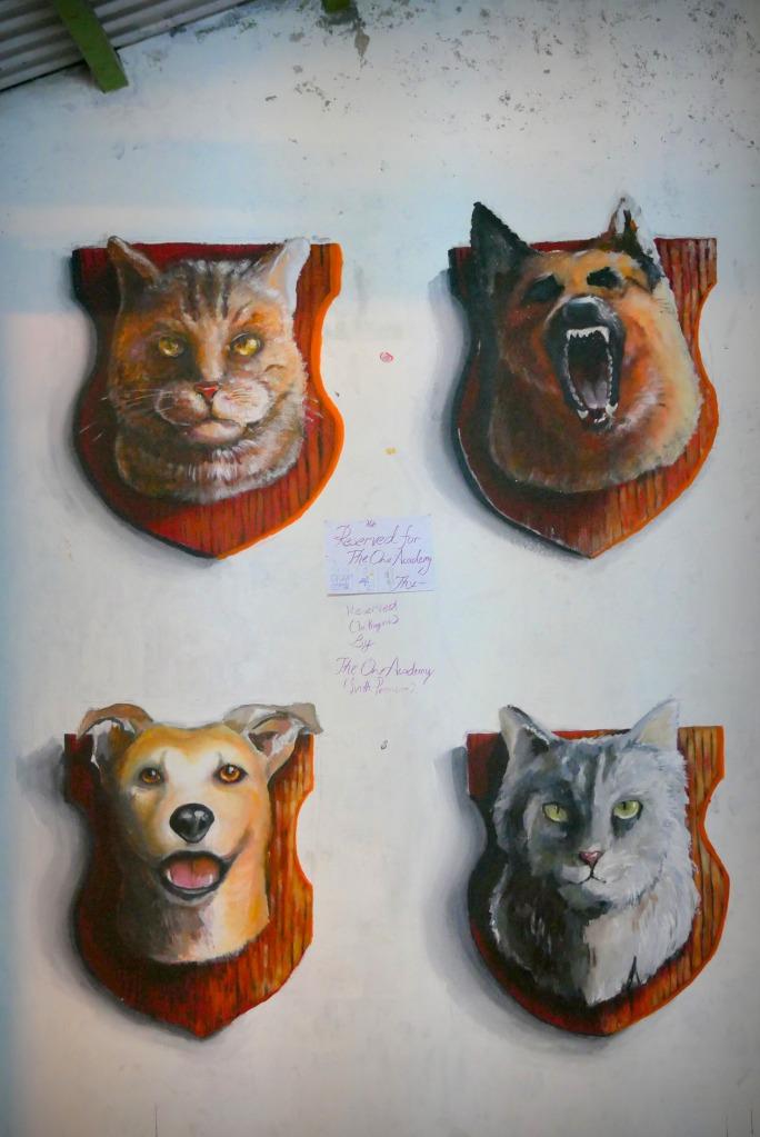 Des chiens et des chats en trophées de chasse. La cynophagie, on en parle ?